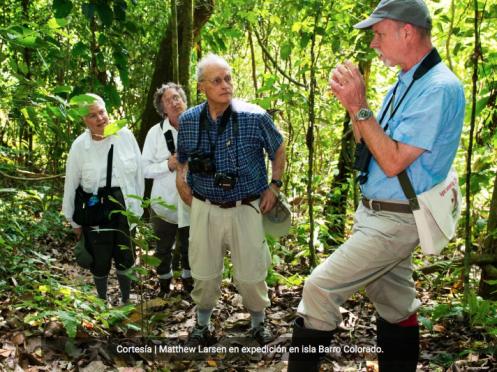 Cautivado por la biodiversidad panameña