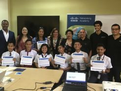 UTP recibió reconocimiento por parte de Cisco Networking Academy