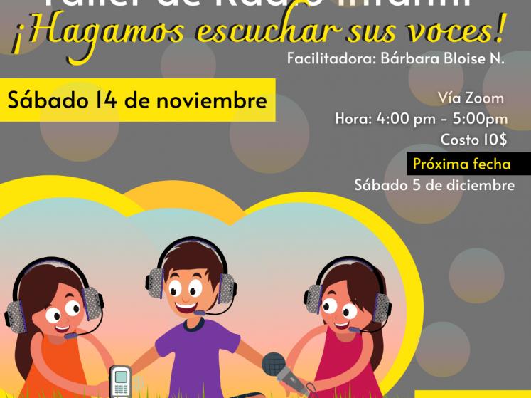 La radio infantil como herramienta para el empoderamiento de niñas y niños