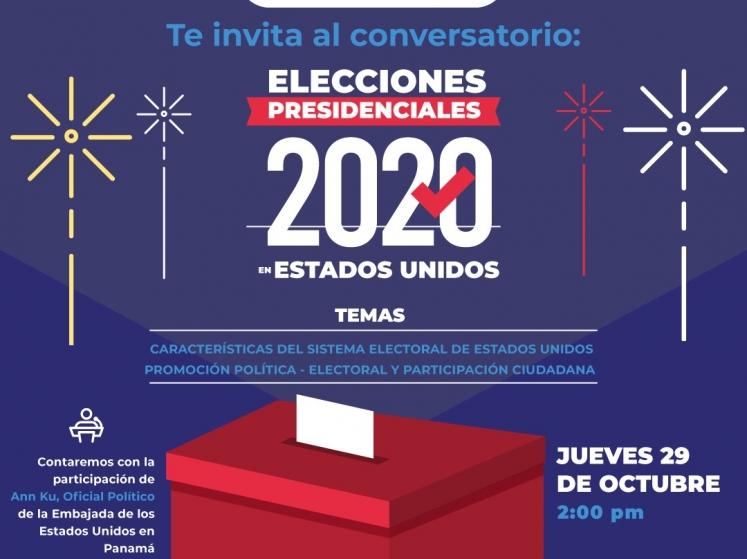 Conversaremos sobre las elecciones  presidenciales en EEUU 2020